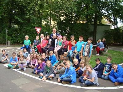 Gruppenfoto Kinder©Verkehrswacht Nienburg
