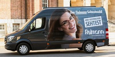 Fielmann Sehtestmobil©Fielmann AG